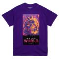 WEIRD WORLD TEE (PURPLE/76914PPL)