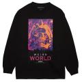WEIRD WORLD L/S TEE (BLACK/76915BLK)