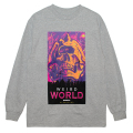 WEIRD WORLD L/S TEE (H.GREY/76915GRY)