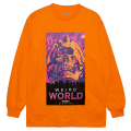 WEIRD WORLD L/S TEE (ORANGE/76915ORG)