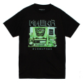 INCOMING TRANSMISSIONS TEE (BLACK/76916BLK)