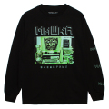 INCOMING TRANSMISSION L/S TEE (BLACK/76938BLK)