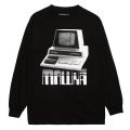 PERSONAL COMPUTER L/S TEE (BLACK/76949BLK)