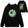 SAMURAI KEEP WATCH HOODIE (BLACK/76967BLK)