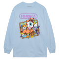 MISHKA POWER L/S TEE (BLUE/76969BLU)