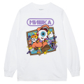 MISHKA POWER L/S TEE (WHITE/76969WHT)