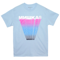 CYRILLIC TRAILS TEE (L.BLUE/76970BLU)