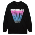 CYRILLIC BLOCK TRAILS L/S TEE (BLACK/76971BLK)
