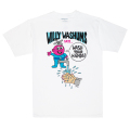 MISHKA x JOHNNY RYAN: WILLY WASHUMS TEE (WHITE/89535)