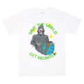 MISHKA x JOHNNY RYAN: SAVE THE WORLD TEE (WHITE/89816WHT)