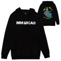 MISHKA x JOHNNY RYAN: SAVE THE WORLD HOODIE (BLACK/89818)
