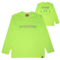HOLOGRAPHIC UNIVERSE L/S TEE (LIME/91505LME)