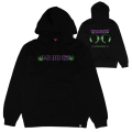 HOLOGRAPHIC UNIVERSE HOODIE (BLACK/91506BLK)