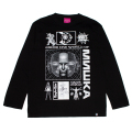 PARALLEL WORLDS L/S TEE (BLACK/91511BLK)