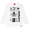 PARALLEL WORLDS L/S TEE (WHITE/91511WHT)
