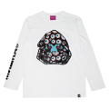 SECRET SOCIETIES L/S TEE (WHITE/91543WHT)