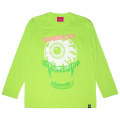 STACKED L/S TEE (LIME/91549LME)