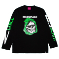2 CHILL 4 DEATH L/S TEE (BLACK/91552BLK)