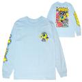 MISHKA x FRKO: POP! POP! POP! L/S TEE (L.BLUE/92518BLU)