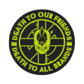 DEATH TO OUR FRIENDS STICKER (94594)