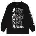 MISHKA x DENNIS THE MENACE: TROUBLEMAKER L/S TEE (BLACK/98219)