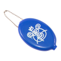 BEAR MOP RUBBER COIN CASE (BLUE/EX17002DBLU)