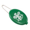 BEAR MOP RUBBER COIN CASE (GREEN/EX17002DGRN)