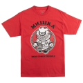 HERE COMES TROUBLE TEE (RED/EX181341RED)