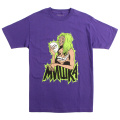 MOUTHS OF MADNESS TEE (PURPLE/EX181344PPL)
