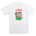 GARBAGE PAIL ADDERS TEE (WHITE/EX181356WHT)