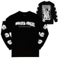 MISHKA x MIKE DIANA: BOILED NANCY L/S TEE (BLACK/EX1908MD)