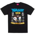 MISHKA x AIR JAM 2018 TEE (BLACK/EXSM18MA1BLK)