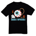 IMPOSSIBLE KEEP WATCH TEE (BLACK/EXSP1723BLK)