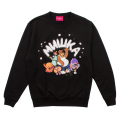 WITH BEAR CREWNECK (BLACK/EXWD1003CBLK)