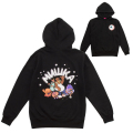 WITH BEAR HOODIE (BLACK/EXWD1003HBLK)