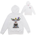 TOTEM POLE HOODIE (WHITE/EXWD1004HWHT)