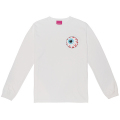 KEEP WATCH L/S T-SHIRT (WHITE/EXWD1006WHT)