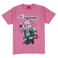Hi-STANDARD x MISHKA: BEAR GUY TEE (PINK/EXWDHS01PNK)