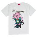 Hi-STANDARD x MISHKA: BEAR GUY TEE (WHITE/EXWDHS01WHT)