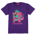 Hi-STANDARD x MISHKA: BEAR MONSTER TEE (PURPLE/EXWDHS03PPL)