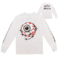 ENTANGLED KEEP WATCH L/S TEE (WHITE/FL171104LSWHT)