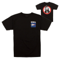 NEIGHBORHOOD KEEP WATCH TEE (BLACK/FL171105BLK)