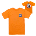 NEIGHBORHOOD KEEP WATCH TEE (ORANGE/FL171105ORG)