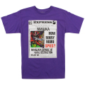 LAMOUR SPIES TEE (PURPLE HEATHER/FL171112PPL)