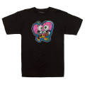 LAMOUR SCUM LOVE TEE (BLACK/FL171116BLK)
