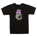 LAMOUR CARE ADDER TEE (BLACK/FL171118BLK)