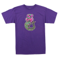 LAMOUR CARE ADDER TEE (PURPLE HEATHER/FL171118PPL)