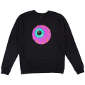 KEEP WATCH CREWNECK (BLACK/FL171122)