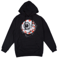 ENTANGLED KEEP WATCH PULLOVER HOODIE (BLACK/FL171126POBLK)