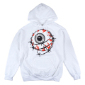 ENTANGLED KEEP WATCH PULLOVER HOODIE (WHITE/FL171126POWHT)